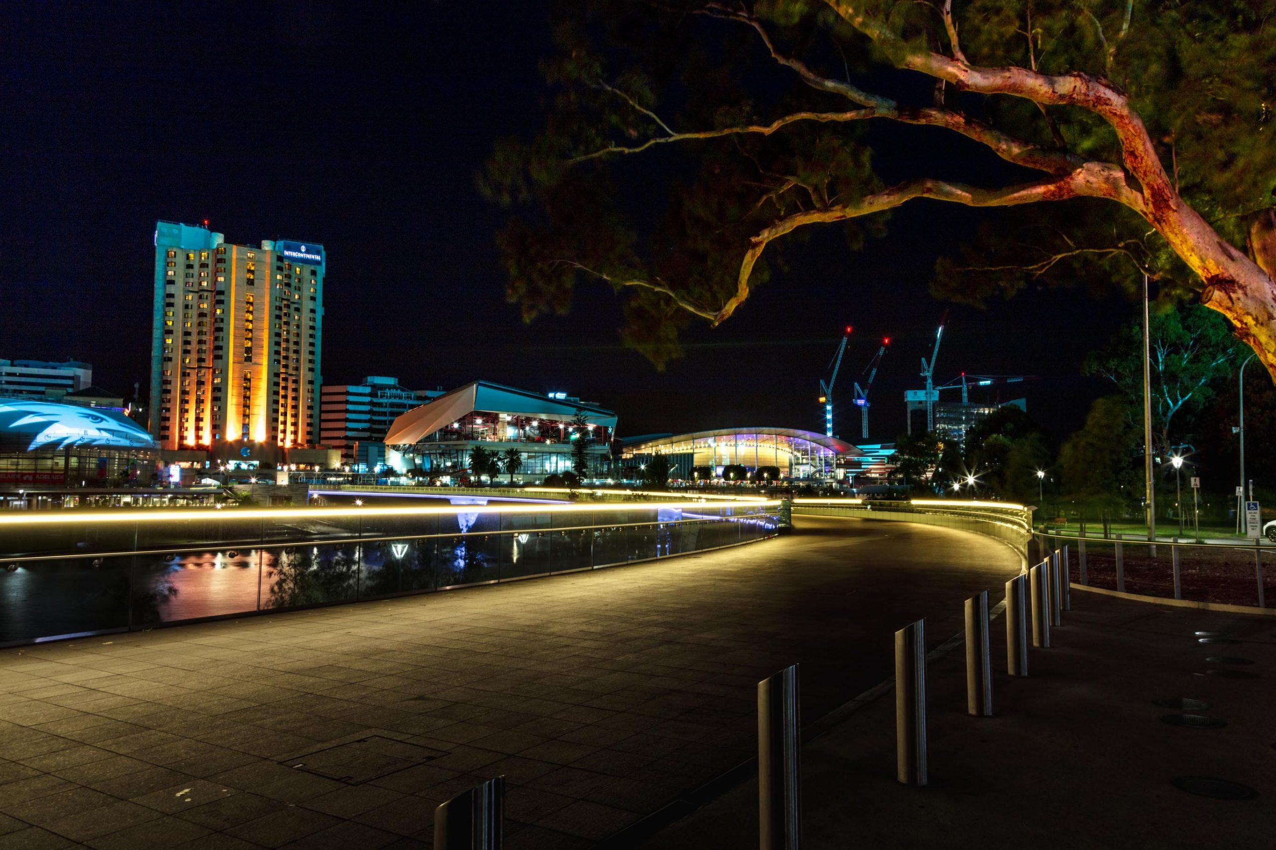 La ville d'Adélaïde en Australie