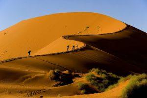 Desert de sel Sossusvlei en Namibie