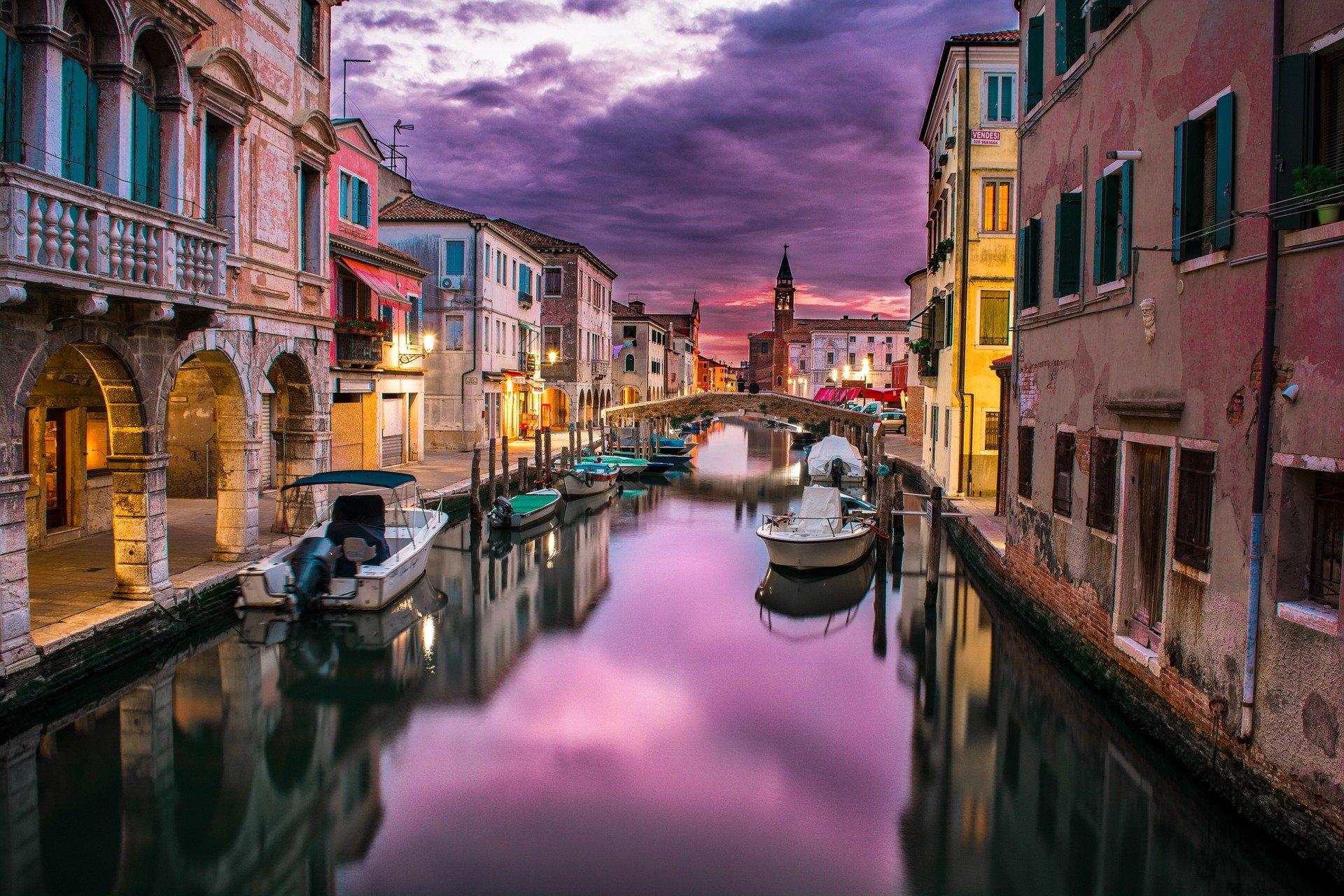 Faire un voyage en italie